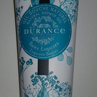 J'ai testé pour vous gel douche naturel  baies exquises
