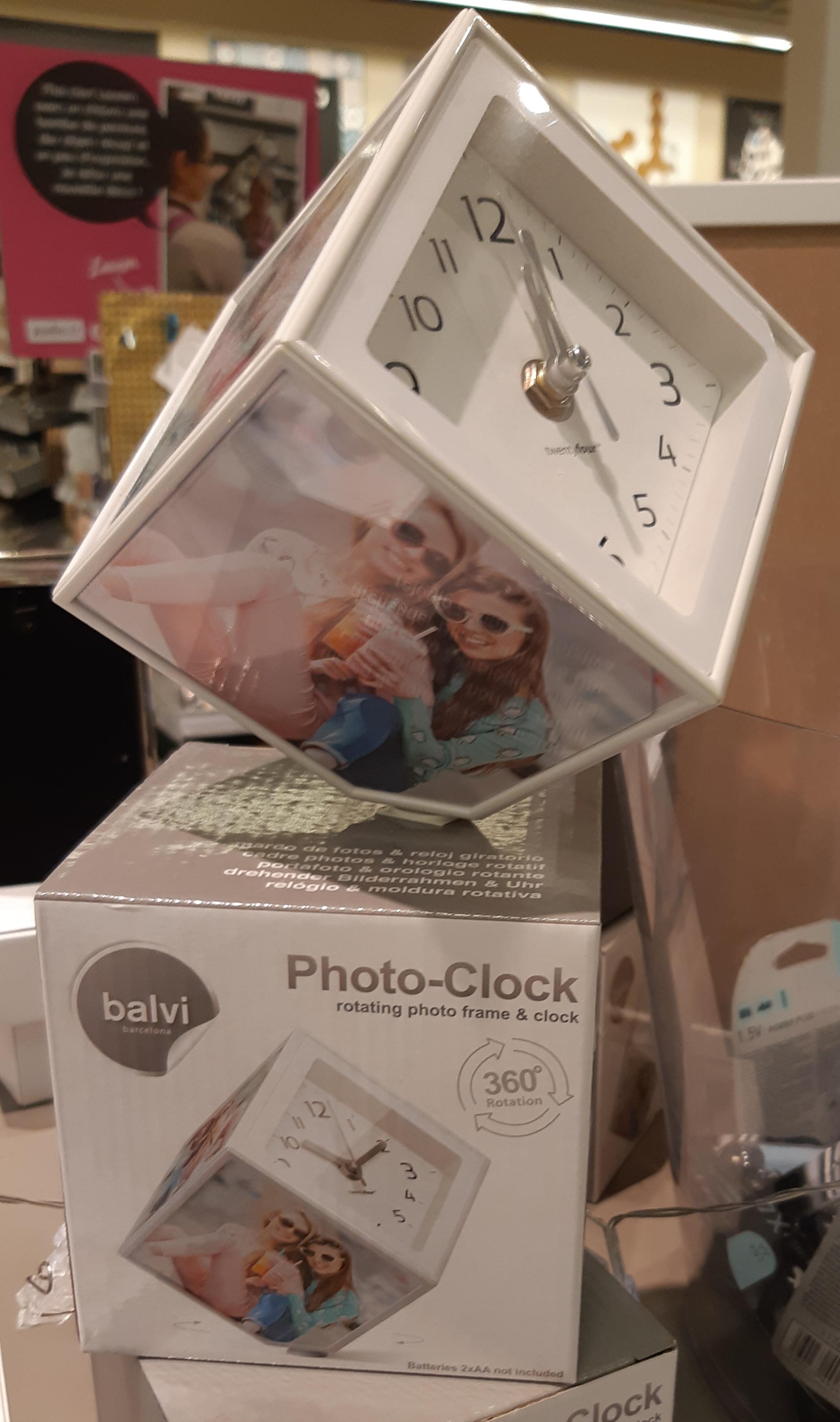 J'ai testé pour vous cadre photo clock