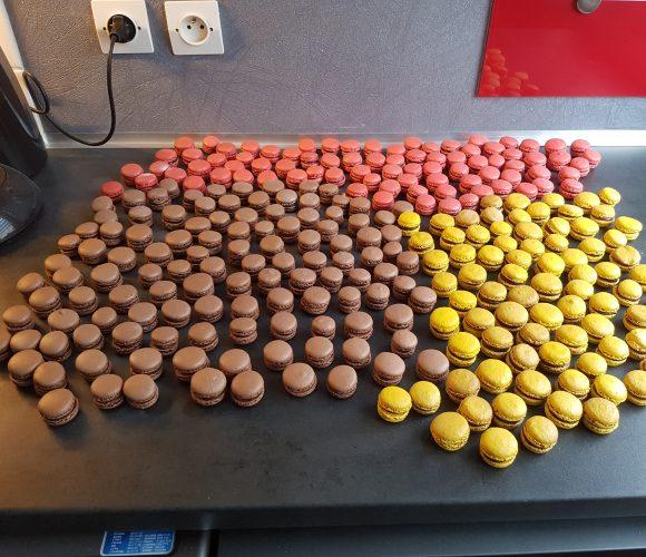 Mes macarons du jour !