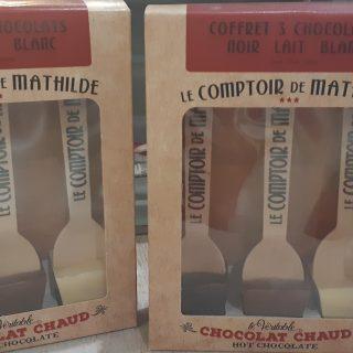 Coffret 3 chocolats LE COMPTOIR DE MATHILDE