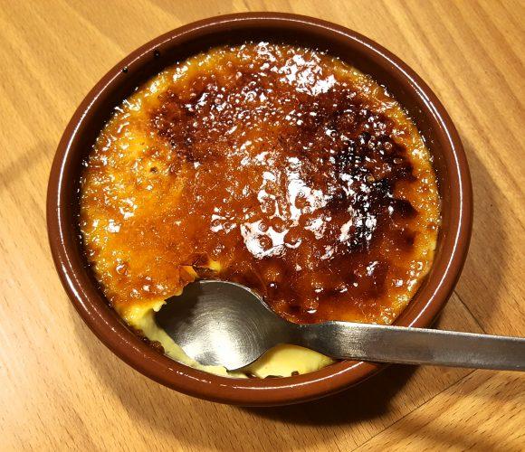 Crème brûlée pur sucre