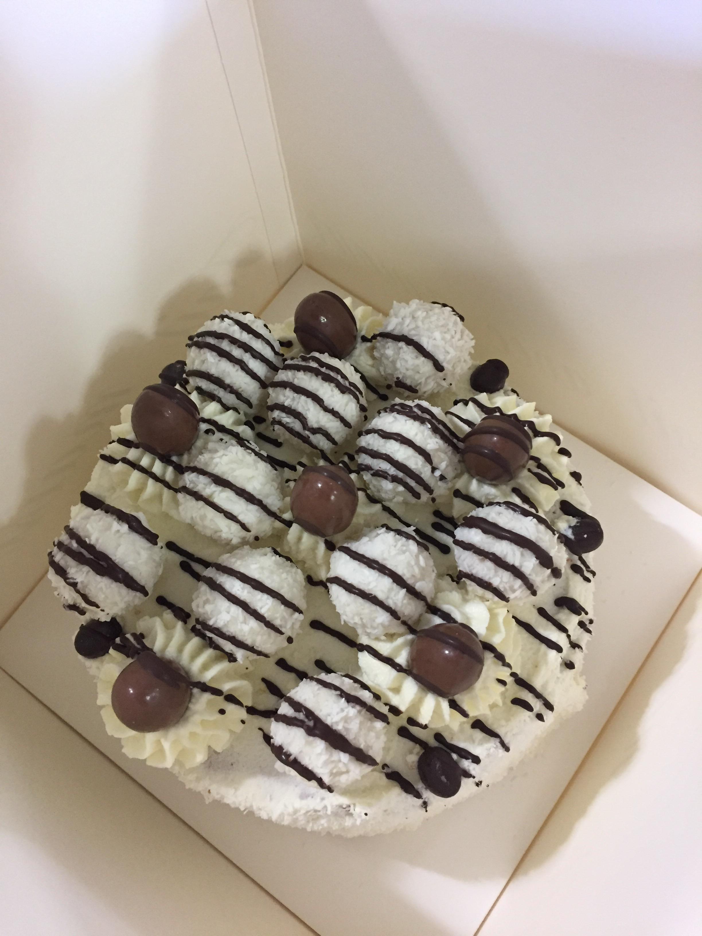 Atelier culinaire parent enfant gâteau Raffaello