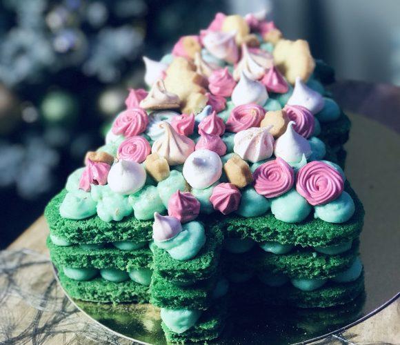 Number Cake Arbre de Noël