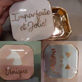 Petites boite à bijoux