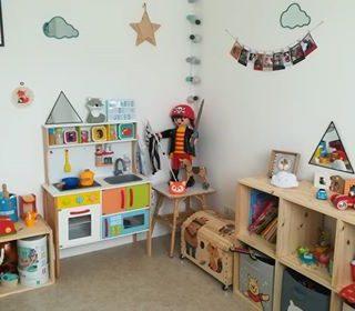 Chambre d'enfant... quand maman est fan de la couleur et des petits renards!! :D