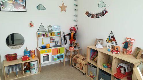 Chambre d'enfant… quand maman est fan de la couleur et des petits renards!! :D