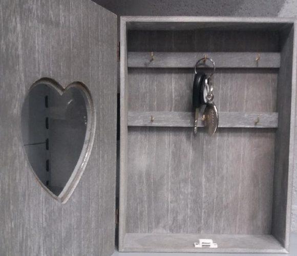 La boite à clé coeur