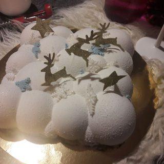 gateau hivernal de noël