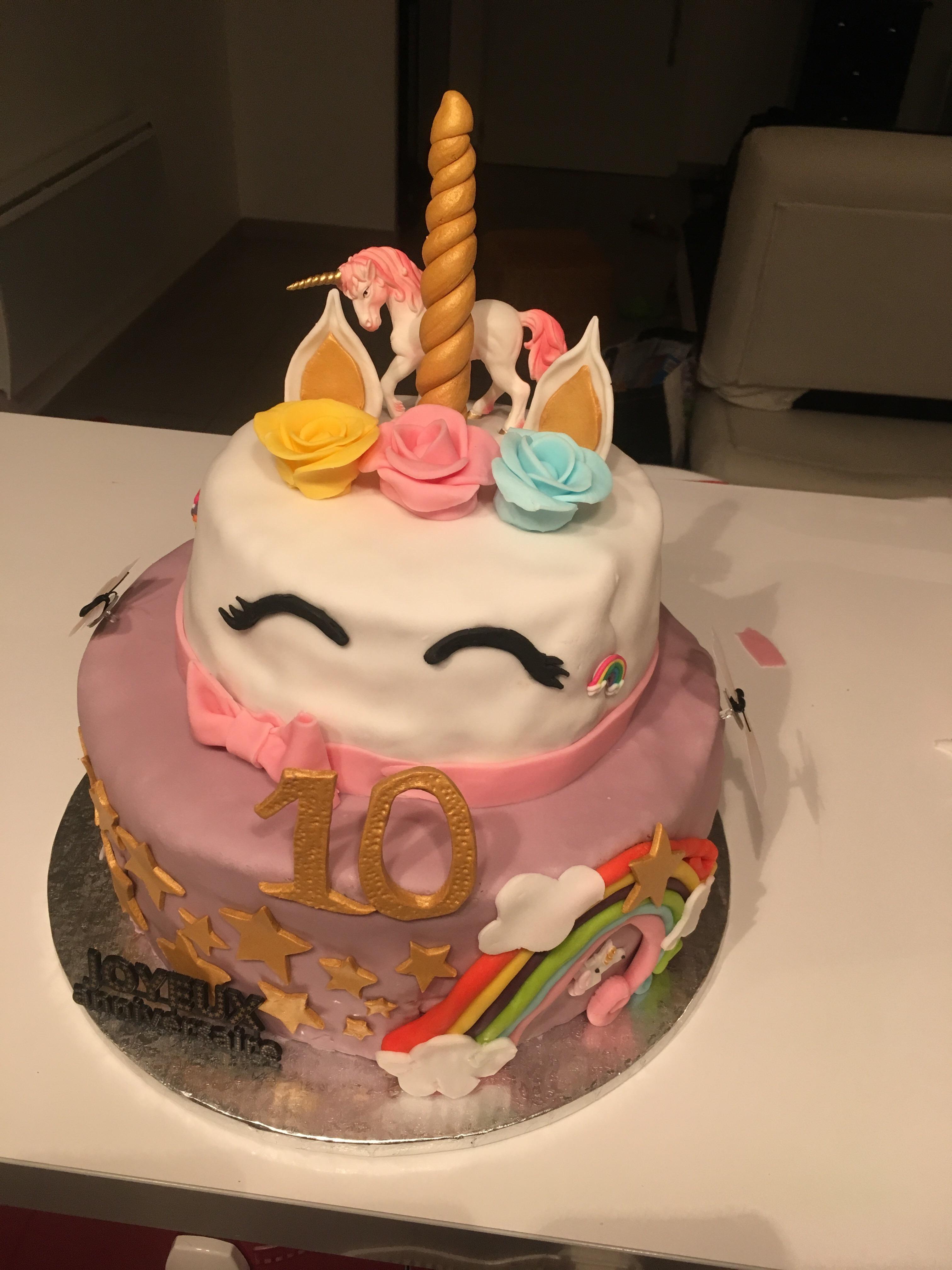 Gâteau Licorne 🦄