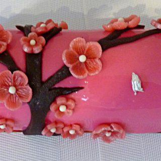 Bûche Sakura