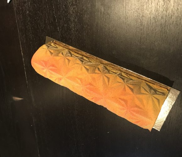 Bûche abricot framboise
