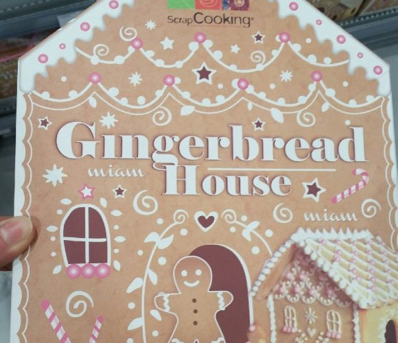 Le kit «gingerbread house», pour un vrai noël traditionnel avec les enfants