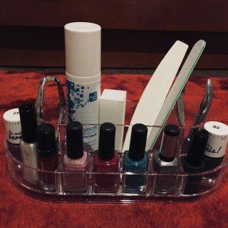 J'ai testé pour vous le rangement pour maquillage 7 compartiments