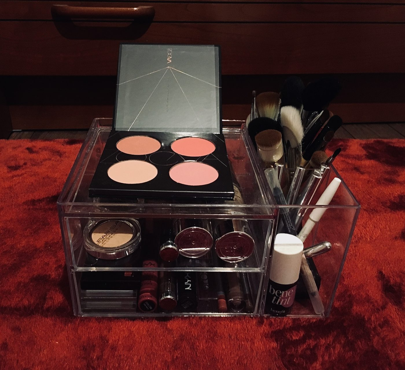 J'ai testé pour vous le range maquillage 2 tiroirs + 2 pots