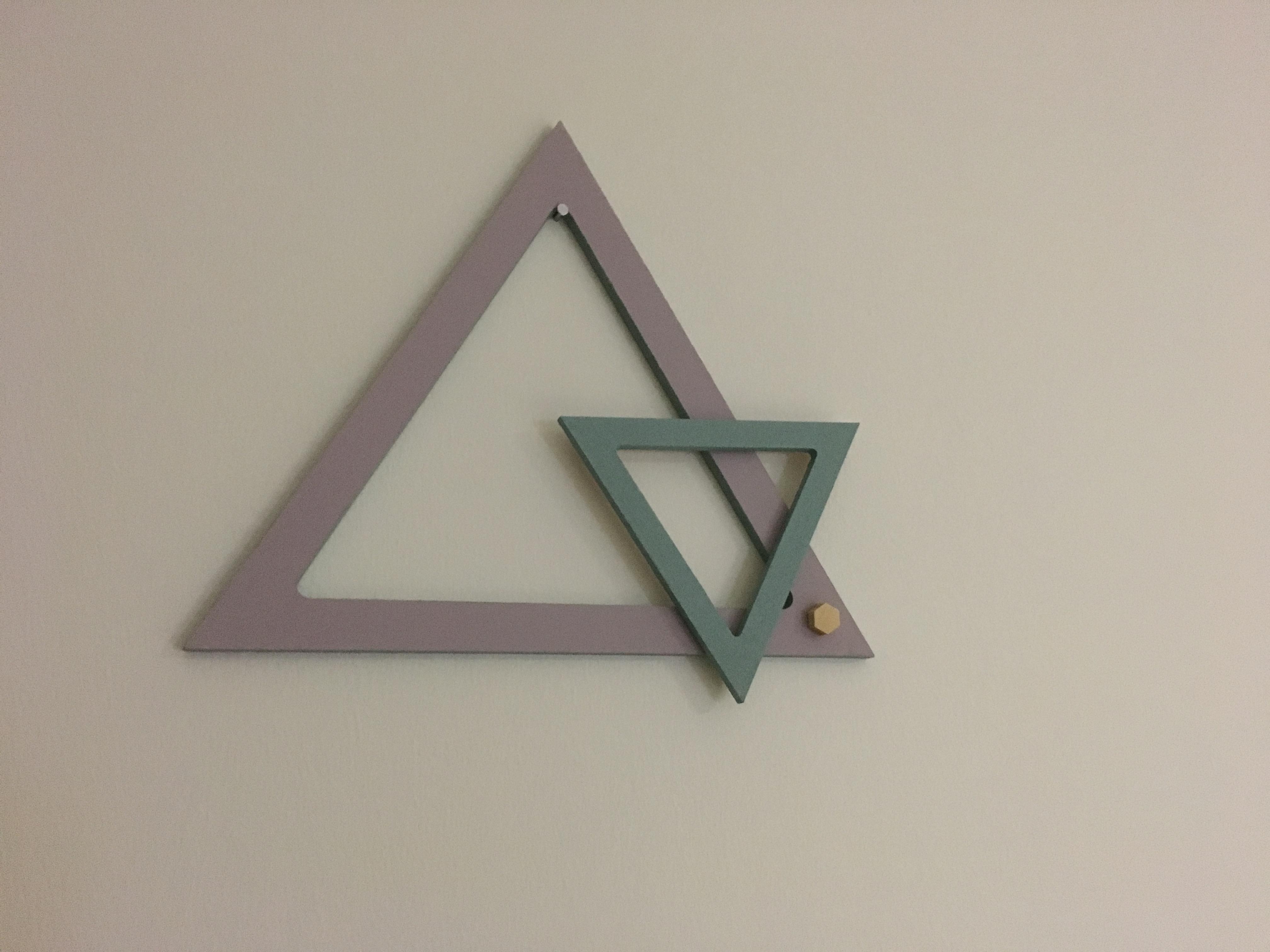 J'ai testé pour vous le triangle évidé 20 cm