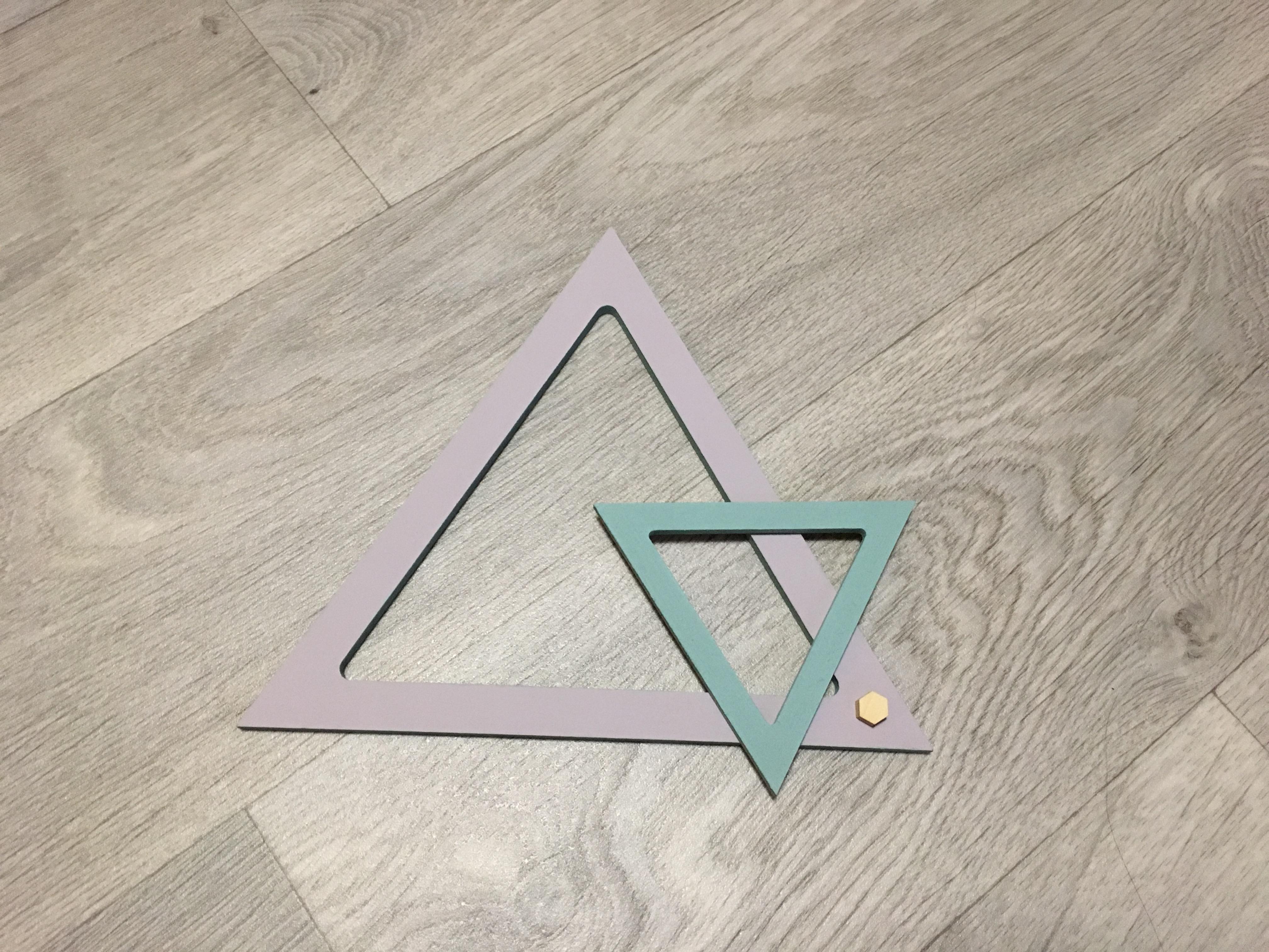 J'ai testé pour vous le triangle évidé 10 cm