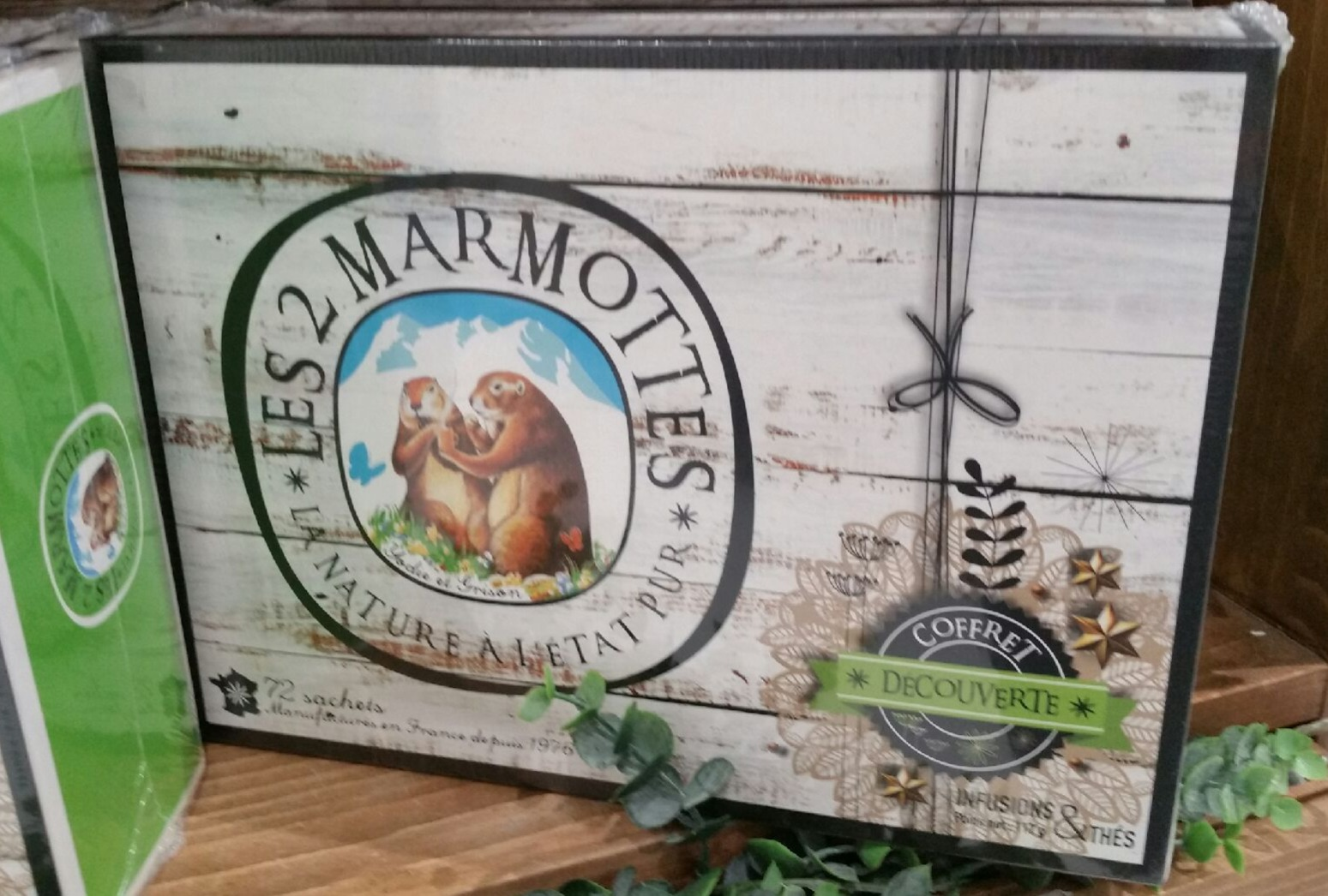 Mon coffret vosgien «les 2 marmottes»