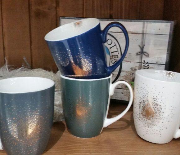 Mon petit coffret 4 mugs, aux couleurs des fêtes !