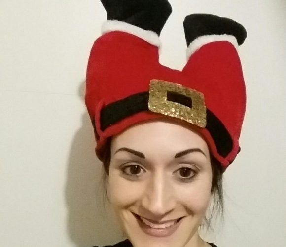 Mon bonnet de noël «popotin de noël»