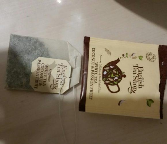 Mon thé blanc anglais, coco fruits de la passion !