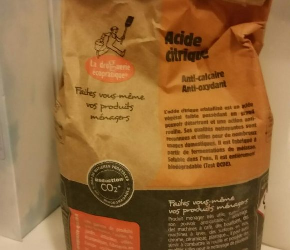 Acide citrique : mon astuce anti rouille !