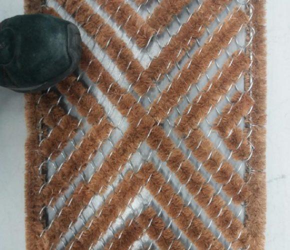 Le tapis idéal devant la porte du jardin
