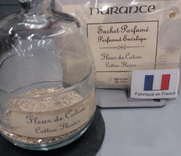 J'ai testé le sachet parfumé Durance fleur de coton