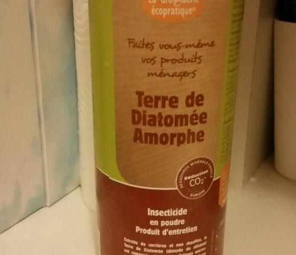 Terre de diatomée …. c'est quoi ? mon insecticide respectueux de l'environnement !