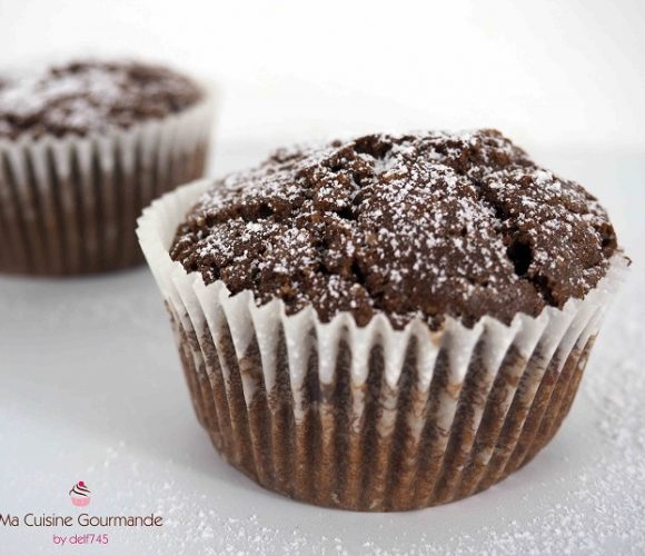 Muffins Tout Chocolat {100% végétal}