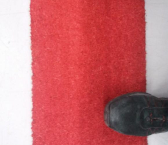 Mon paillasson coco rouge
