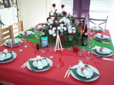 Table soirée entre ami «thème l'italie»
