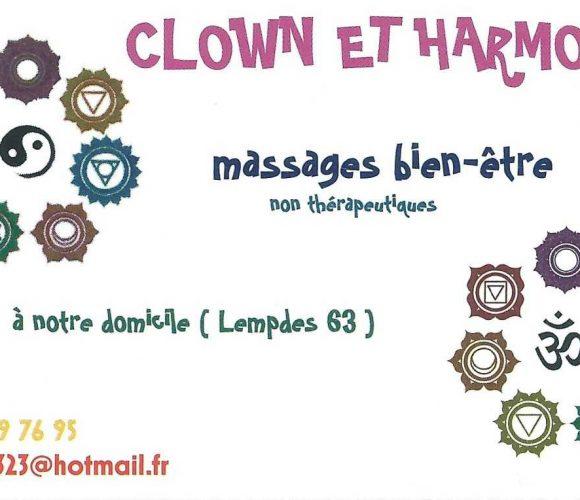 Animation soirée privée Clown et harmonie