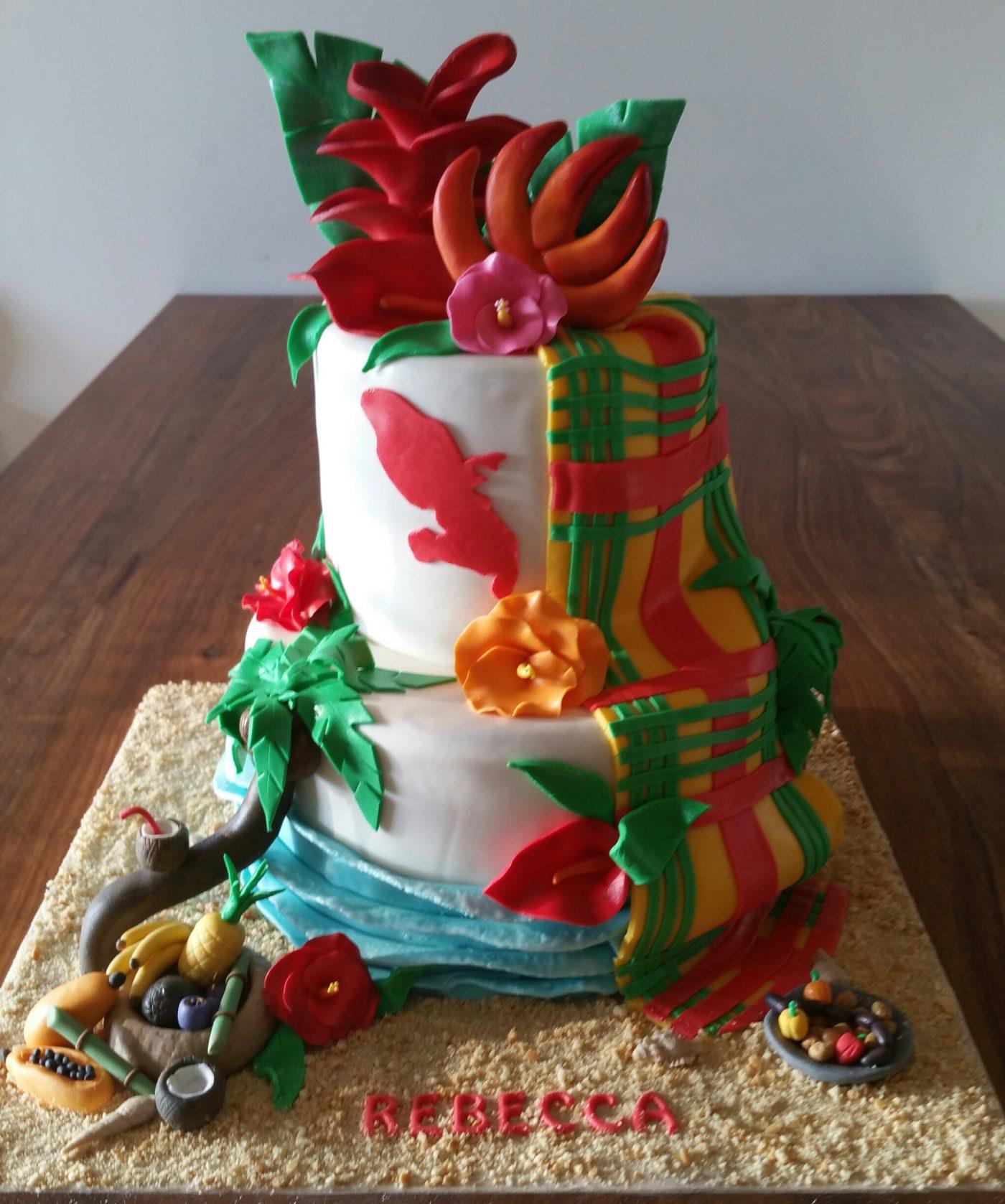 Cake design martinique