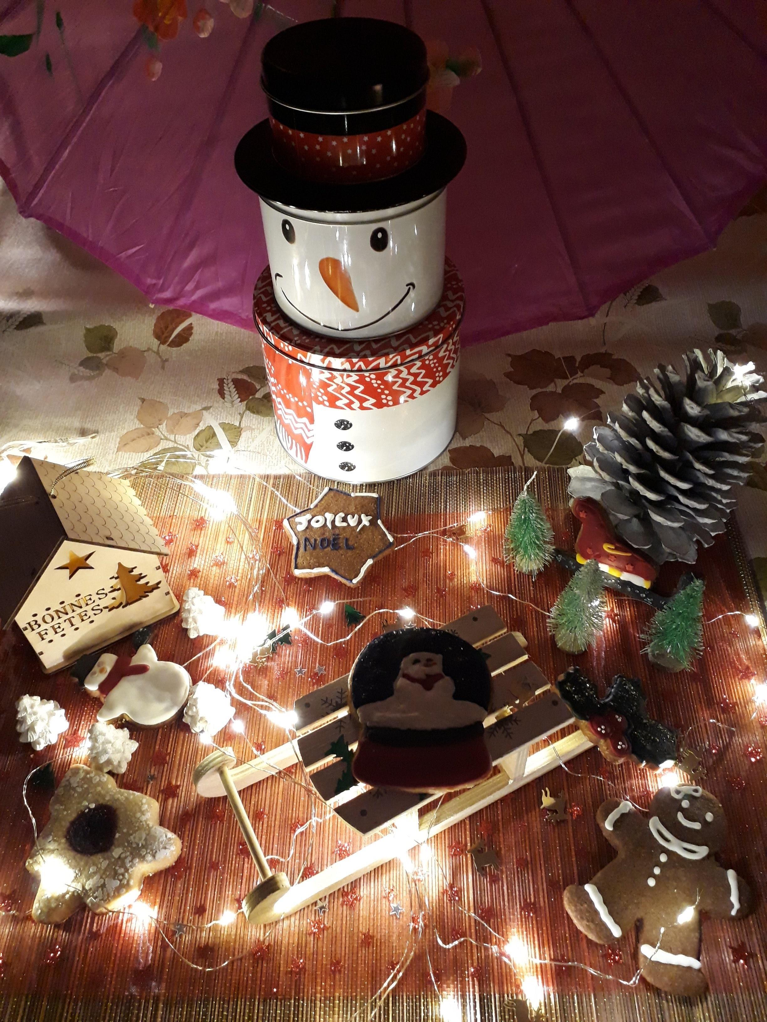 Déco de Noël pour les biscuits