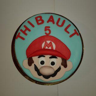 """Mario Bros """"bavarois poire chocolat"""""""