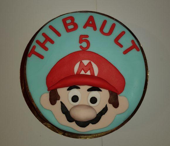 Mario Bros «bavarois poire chocolat»