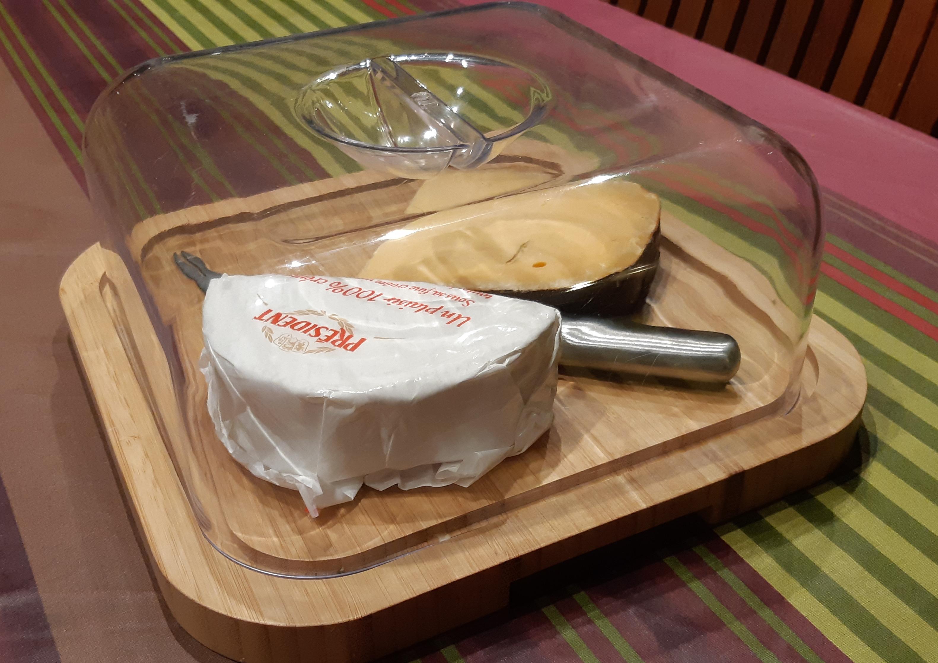J'ai testé pour vous plateau à fromage en bambou Prade