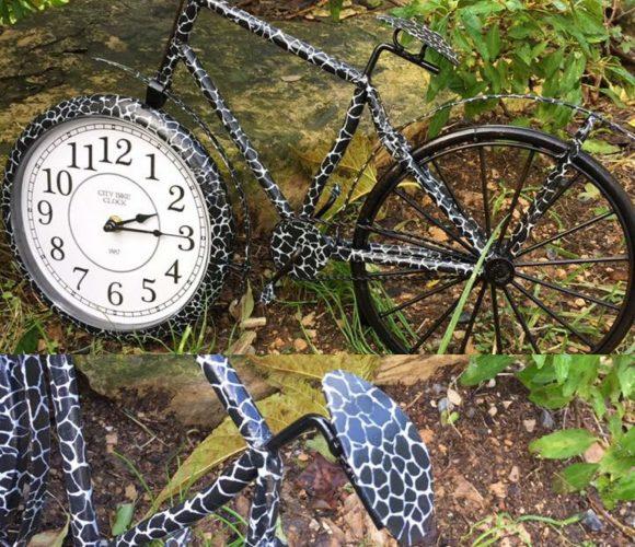 Horloge Vélo Relookée