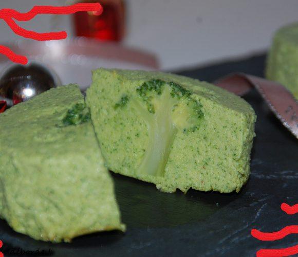 J'ai testé pour vous cercle  en inox 8cm  H4,5cm …. Flan aux brocolis