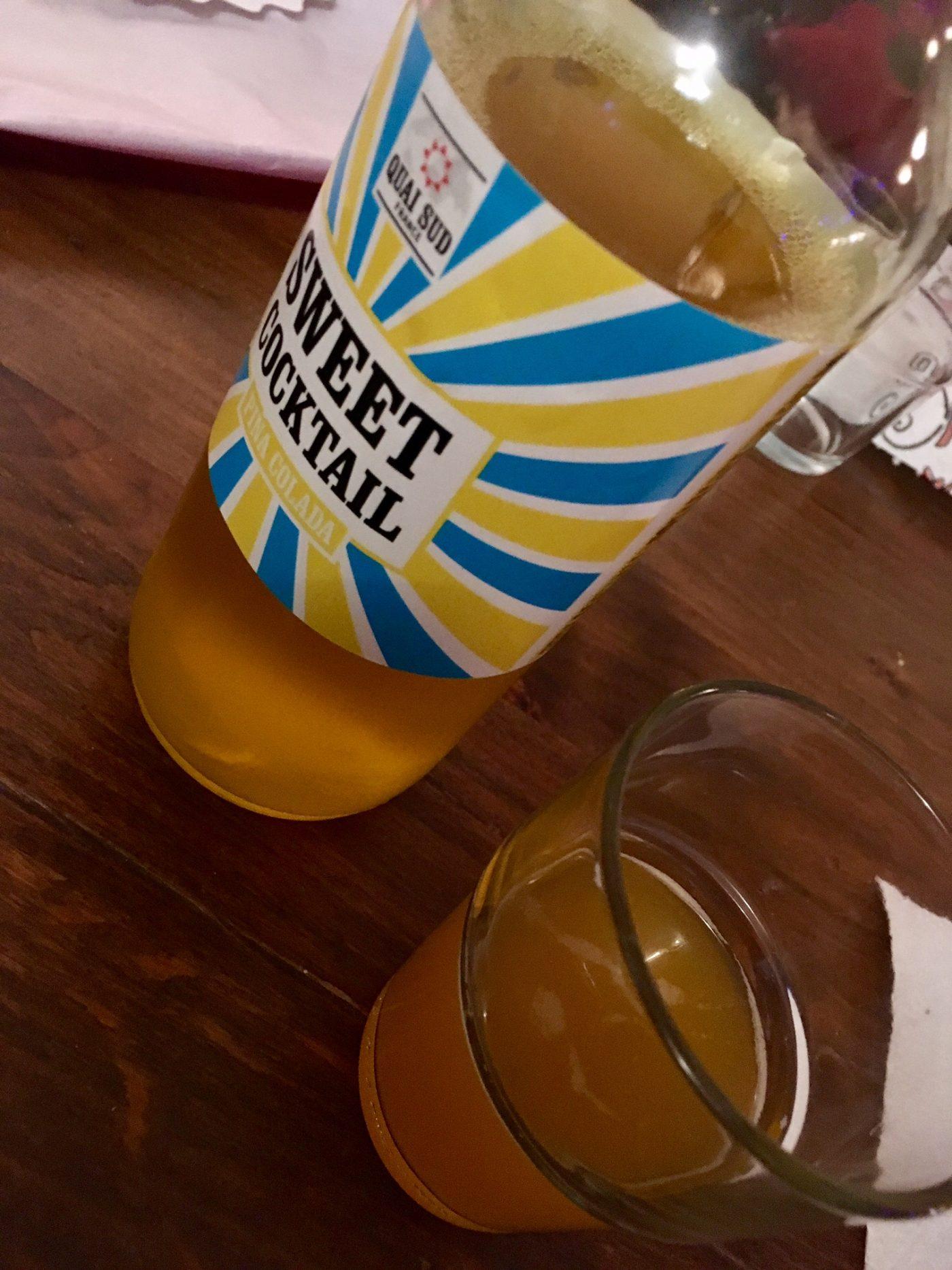 J'ai testé pour vous le mélange pour Cocktail Quai Sud parfum Pina Colada