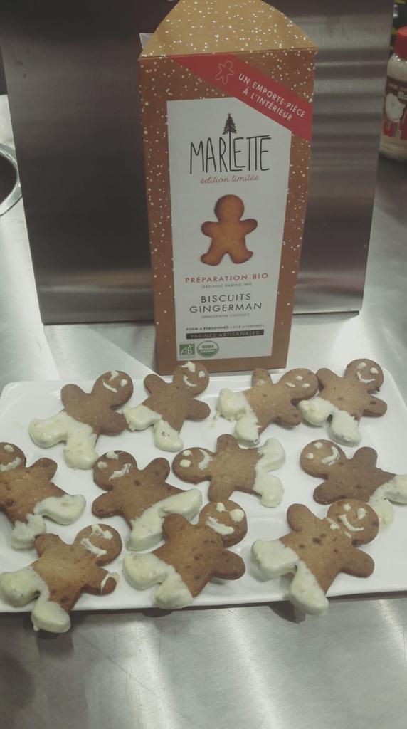 J'ai testé pour vous la préparation bio Biscuits Gingerman avec emporte pièce