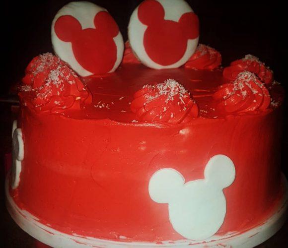 Layer cake Mickey
