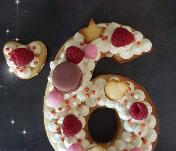 J'ai testé pour vous l'atelier number cake par L'atelier sucré by Jenny
