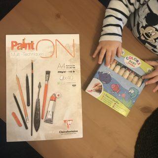 J'ai testé pour vous set de 8 crayons de couleurs Jumbo - ALADINE