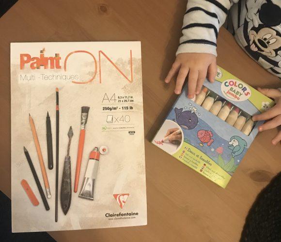 J'ai testé pour vous set de 8 crayons de couleurs Jumbo – ALADINE