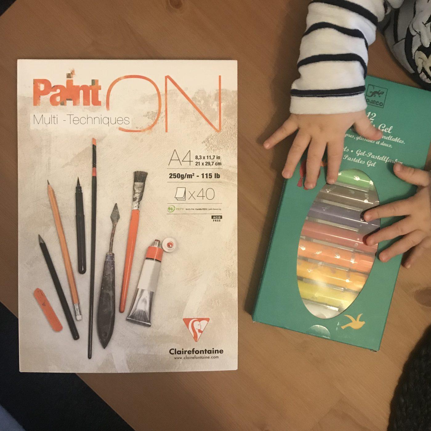 J'ai testé pour vous set de 12 crayons pastel