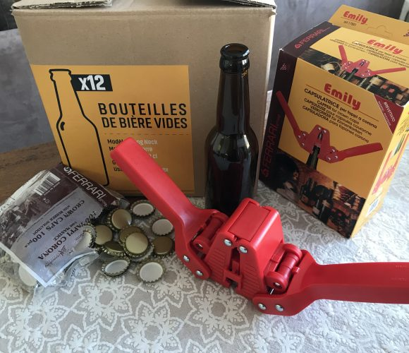 sachet 100 capsules à bière