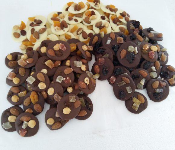 Recette [TUTO] mendiants chocolat !!! HYPER FACILE POUR DÉBUTANT !!!