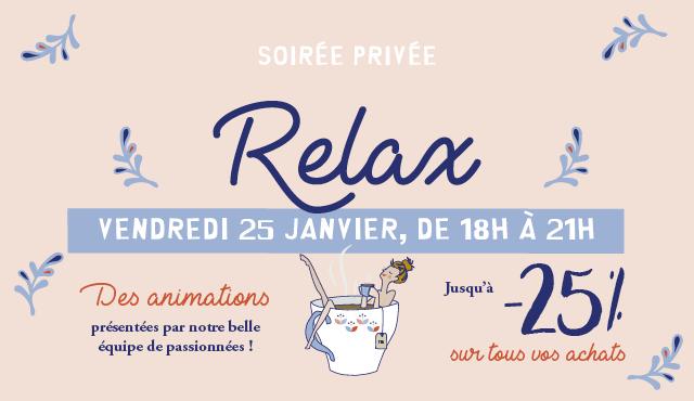 Soirée Privée Relax