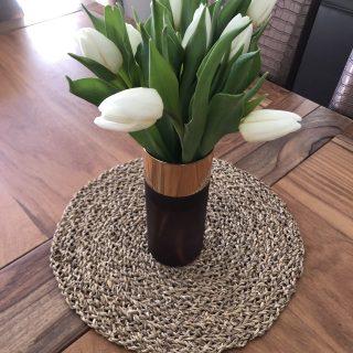Vase gold glamour